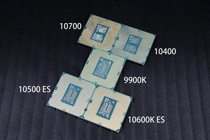 Intel Core i7-10700, i5-10600K, i5-10500, ve  i5-10400'ün incelemesi sızdı: 176 watt çeken i7-10700 Ryzen 7 3700X'ten geride