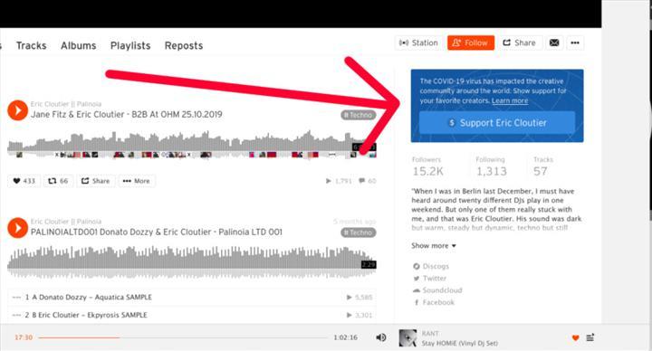 SoundCloud içerik üreticilerine bağış yolunu açıyor