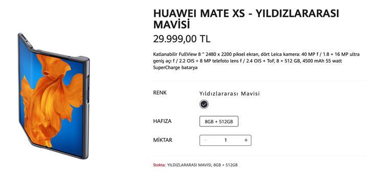 Huawei Mate Xs için