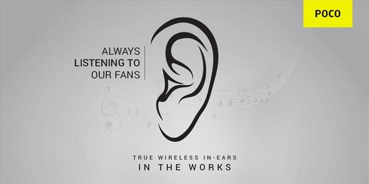 Poco kablosuz kulaklık geliştirdiğini duyurdu