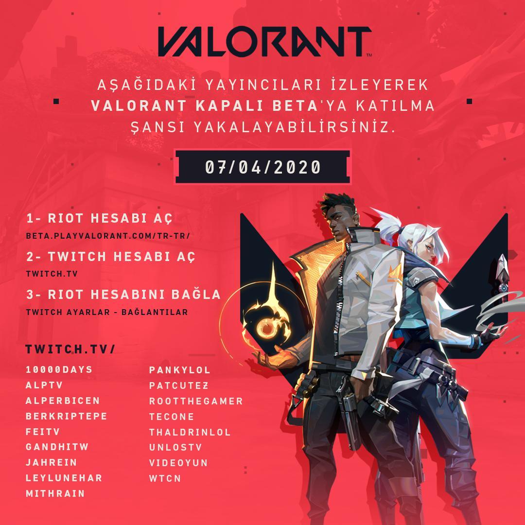 Valorant, Türkçe seslendirmeyle birlikte Kapalı Beta'ya başladı