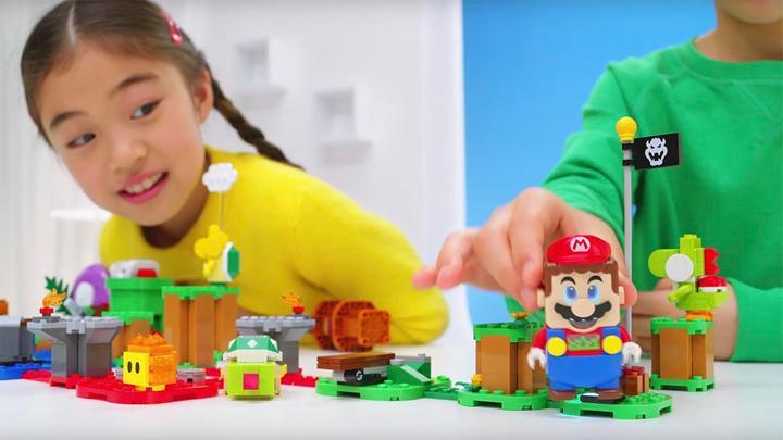 Lego ve Super Mario güçlerini birleştiriyor