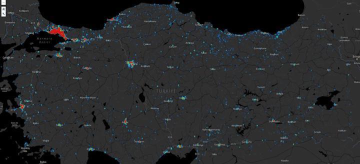Türkiye koronavirüs haritası: İşte illere göre vakaların dağılımı