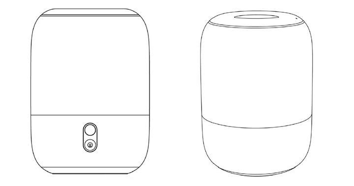 Xiaomi, Apple HomePod'a benzeyen bir akıllı hoparlör tasarladı