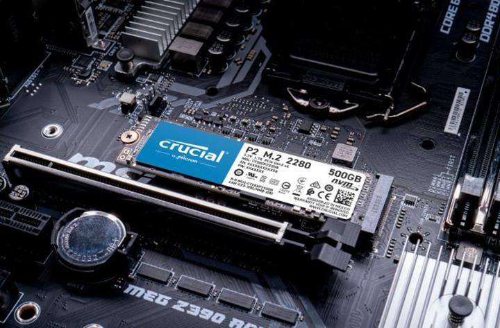Crucial NVME SSD ailesini P2 ile genişletti