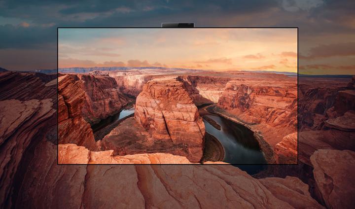 Huawei OLED ekranlı ilk televizyonunu duyurdu! İşte pop-up kameralı Vision X65 özellikleri ve fiyatı
