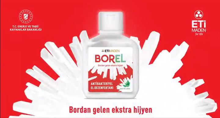 Borlu el dezenfektanı Borel, haftaya satışa çıkıyor