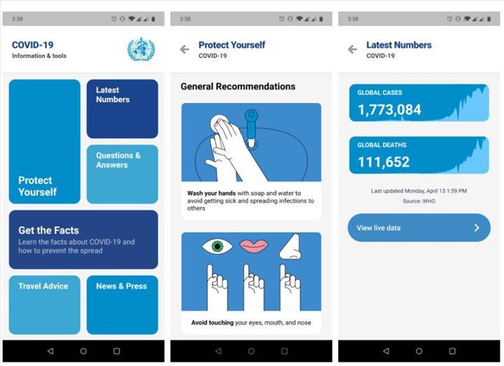 Dünya Sağlık Örgütü resmi COVID-19 uygulamasını yayınlamak üzere