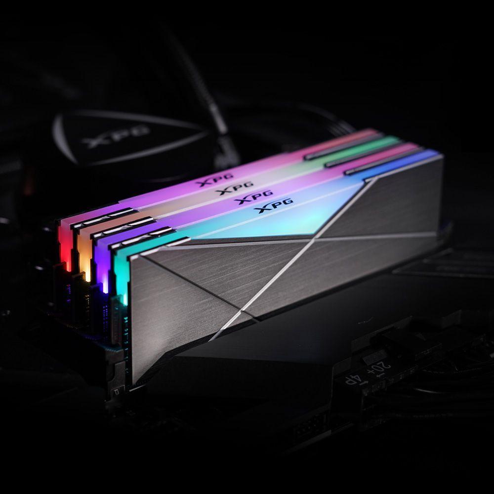 ADATA 4800 MHz frekansta çalışan D50 RGB RAM kitlerini lanse etti