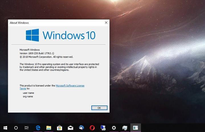Windows 10 yapı 1809'un destek süresi uzatıldı