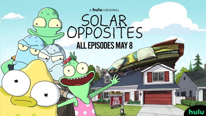Rick and Morty yaratıcısının yeni dizisi Solar Opposites'den uzun fragman