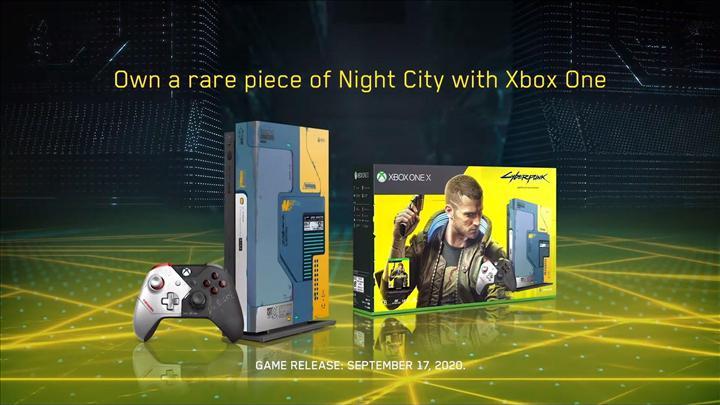 Xbox One X Cyberpunk 2077 paketi duyuruldu