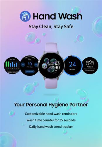 Samsung, Galaxy akıllı saatler için bir el yıkama uygulaması başlattı!