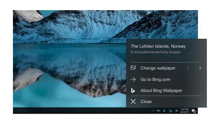 Microsoft, Bing Wallpaper uygulamasını kullanıma sundu