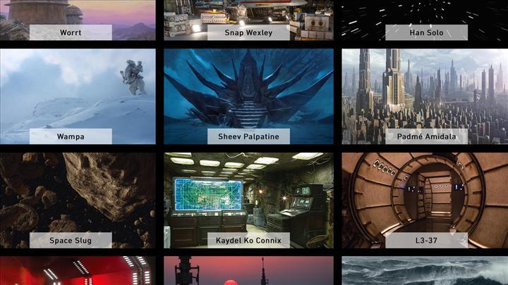Görüntülü sohbetlerinizde arka planınız Star Wars'dan