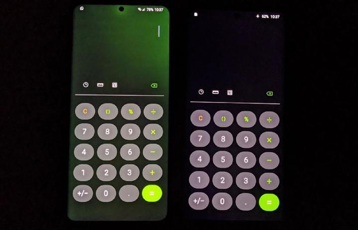 Samsung, Galaxy S20 Ultra'daki yeşil ekran sorununu çözecek
