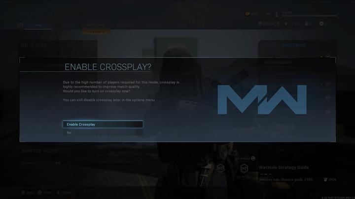 Hileciler yüzünden Call of Duty Warzone'un crossplay özelliği kapatılabilir