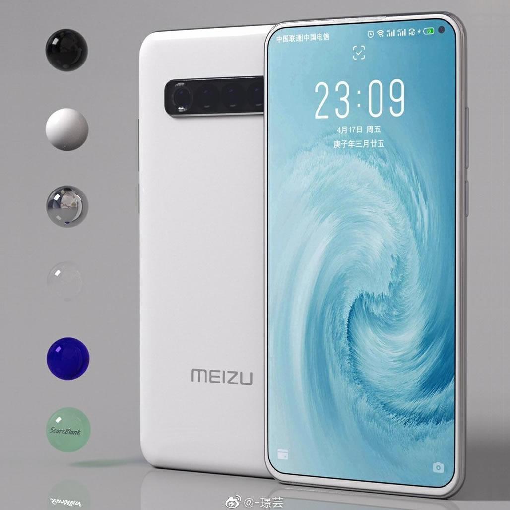 Meizu 17'nin tasarımı netleşti