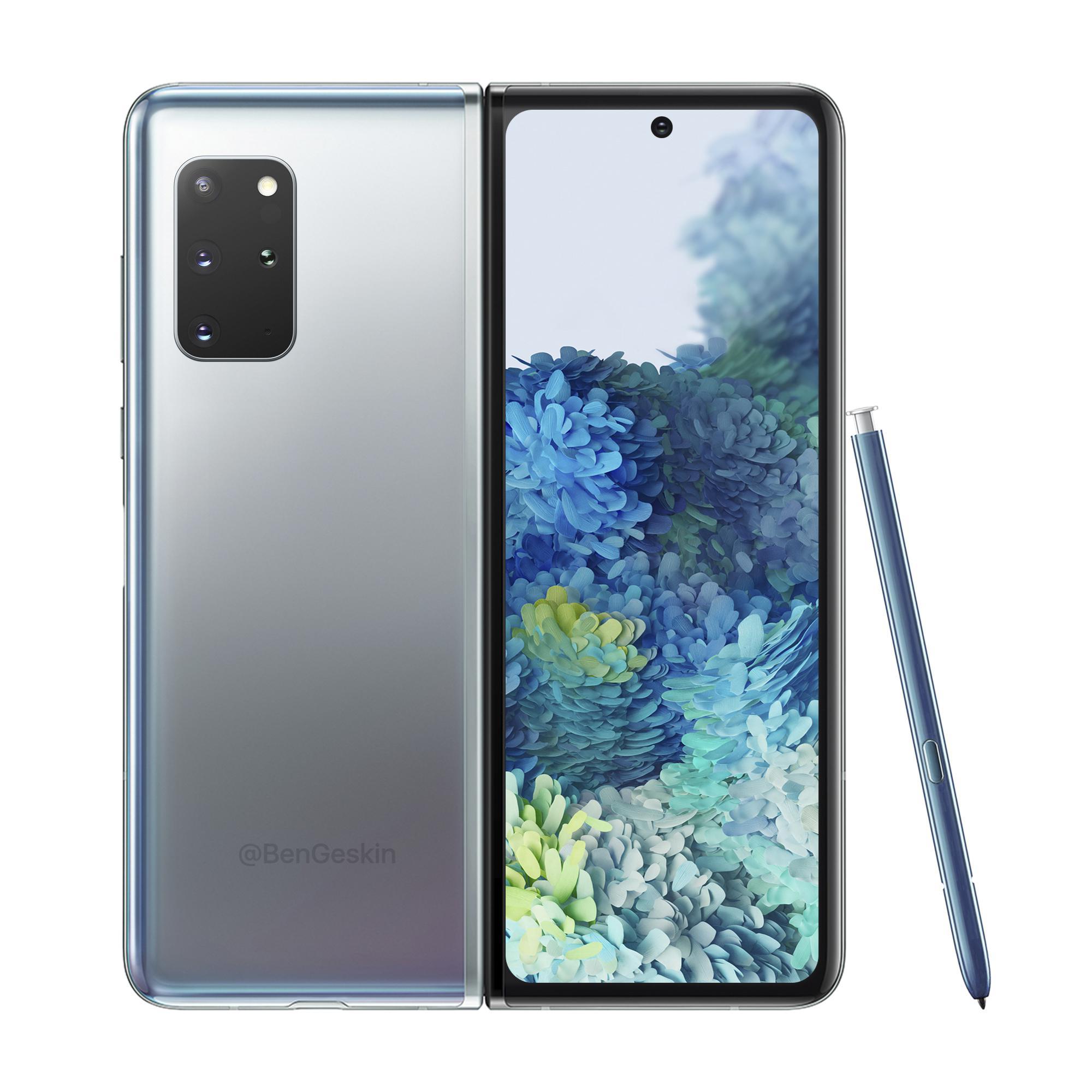 Samsung Galaxy Fold 2 ekranı ve tasarımı sızdırıldı