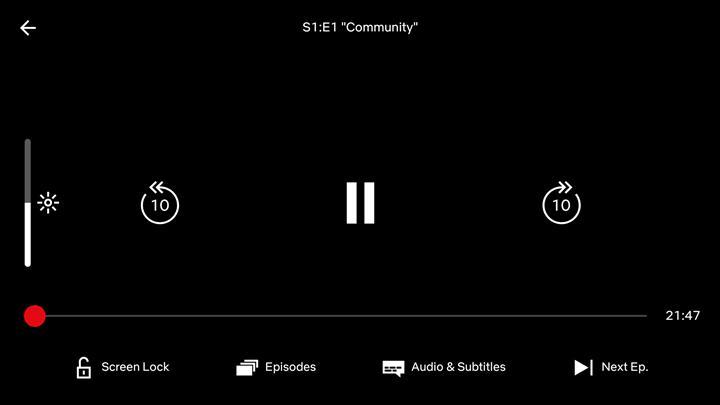 Netflix Android uygulaması ekran kilidi özelliğine sahip oldu