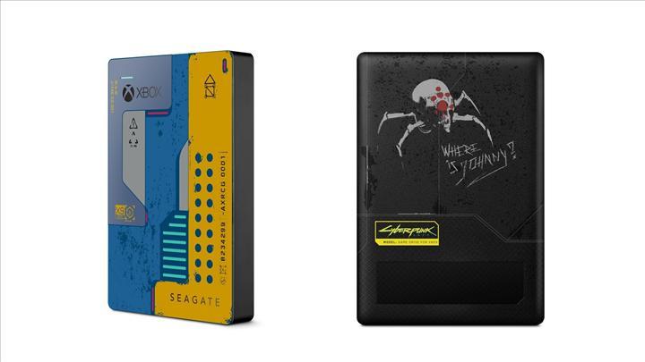 Cyberpunk 2077 temalı bir diğer ürün de Seagate'den geldi