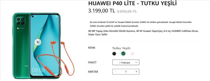 Huawei P40 serisi Türkiye'de! İşte Huawei P40 ve P40 Pro Türkiye fiyatı
