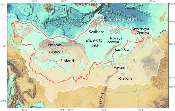 Araştırmaya göre 14 bin yıl önce eriyen Avrasya Buz Örtüsü, deniz seviyesini 8 metre yükseltti