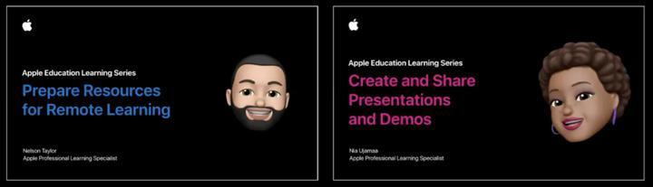 Apple öğretim programları ve içerikleriyle uzaktan eğitime destek oluyor
