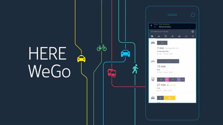 Huawei, Google Haritalar'ın alternatifini buldu: HERE WeGo