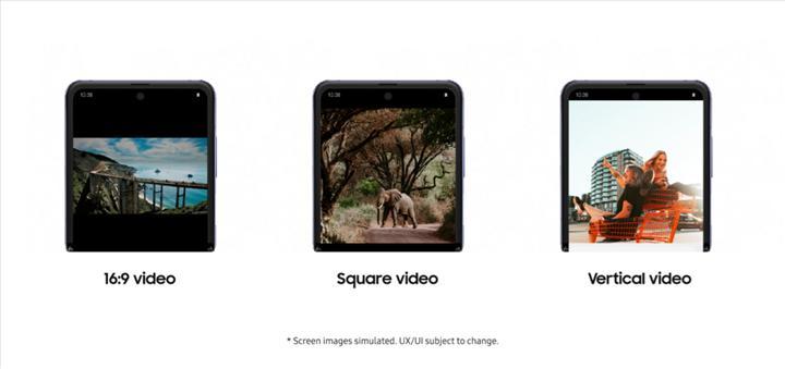 YouTube uygulaması Galaxy Z Flip'e uyumlu hale geldi