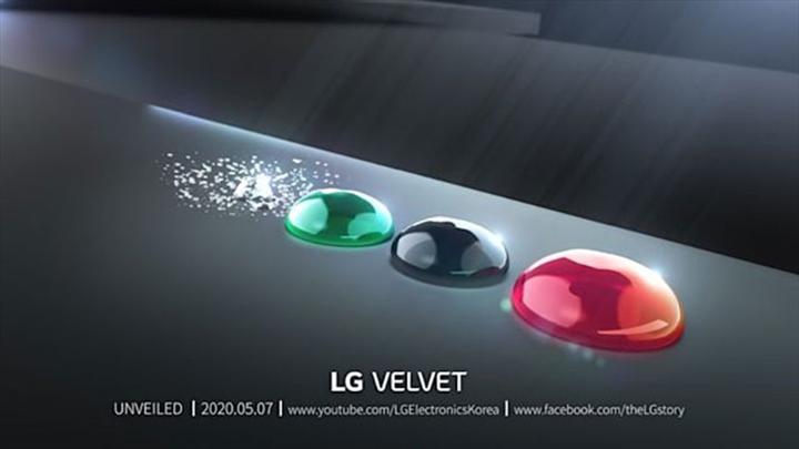 LG yeni nesil akıllı telefonu Velvet'in lansman tarihini açıkladı