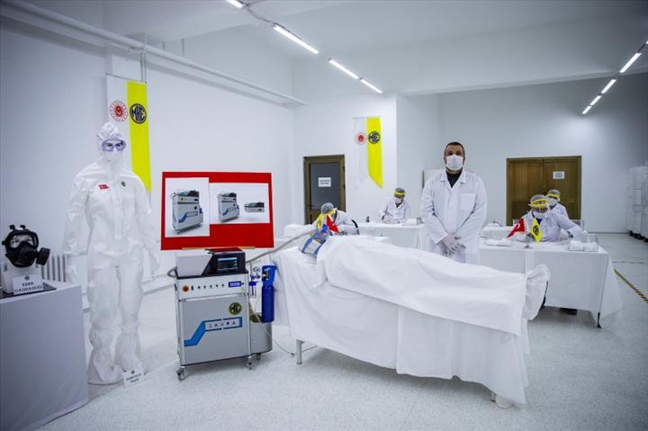 Türkiye'nin yeni solunum cihazı Sahra, Mayıs'ta seri üretimde