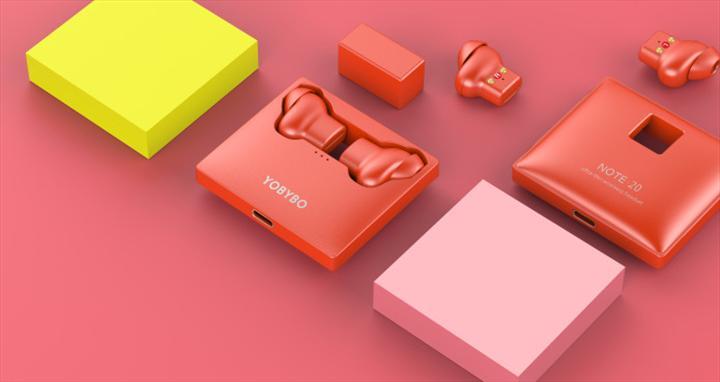 YOBYBO Note 20 tam kablosuz kulaklık kılıf tasarımı ile ses getirecek
