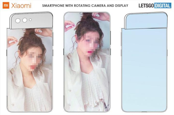 Xiaomi dönen ekran ve kameraya sahip ilginç bir akıllı telefon patenti aldı