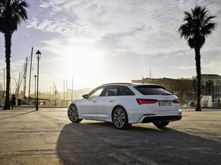 2020 Audi A6 Avant'ın hibrit versiyonu tanıtıldı