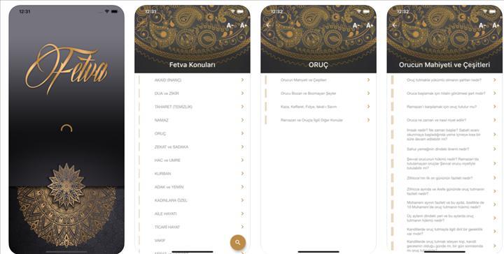Diyanet'in Fetva isimli mobil uygulaması yayınlandı