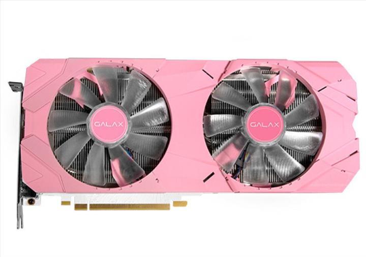 Pembe ekran kartları çoğalıyor: GALAX RTX 2070 Super EX Pink Edition'ı lanse etti