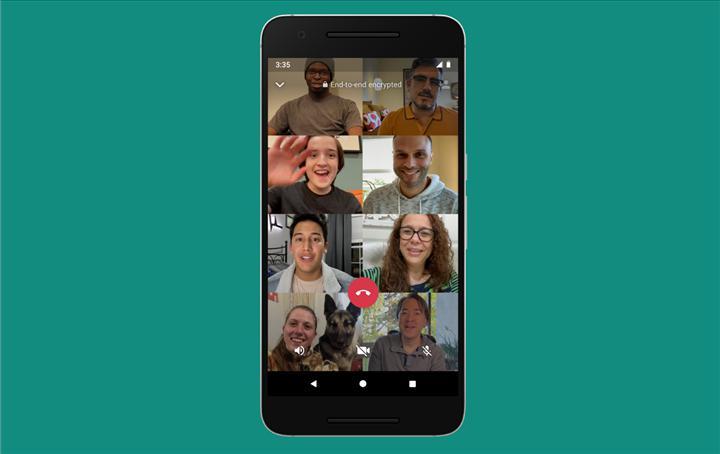 WhatsApp'ta görüntülü görüşmelerdeki katılımcı sayısı iki katına çıktı
