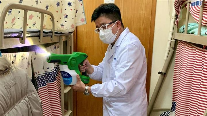 Hong Kong'da 90 güne kadar etkili dezenfektan geliştirildi