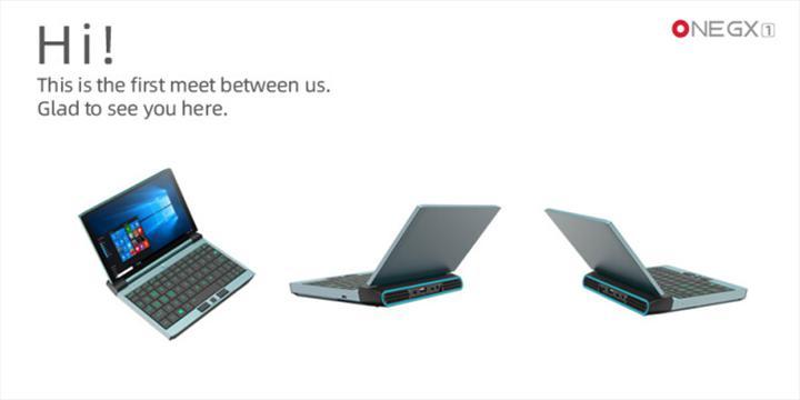 One Notebook, 7 inçe Tiger Lake işlemci ve 5G modem sığdırdı