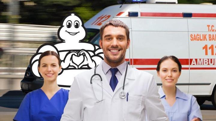 Michelin Türkiye'den ambulanslara lastik desteği