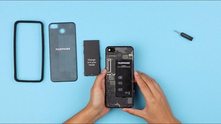 Fairphone'dan üst düzey gizlilik sunan /e/ işletim sistemine sahip akıllı telefon