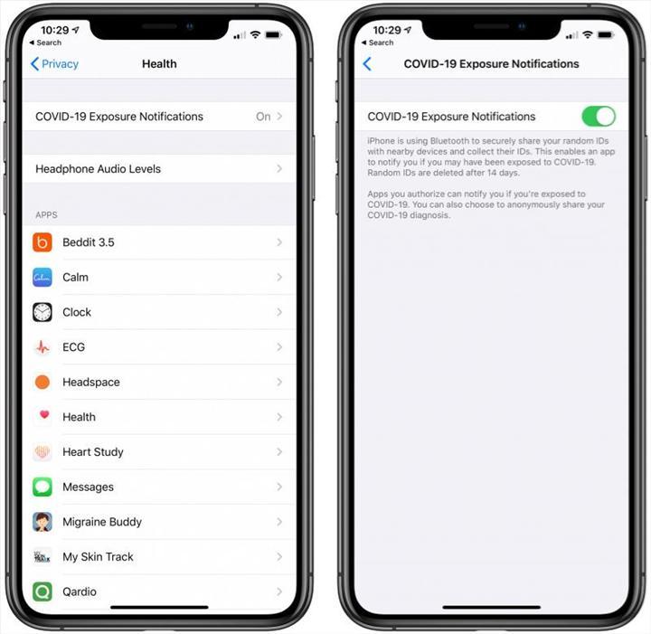 iOS 13.5 güncellemesiyle birlikte koronavirüslü kişilere yaklaşmanız halinde uyarılacaksınız