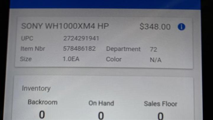 Sony Wh-1000XM4'ün fiyatı sızdırıldı