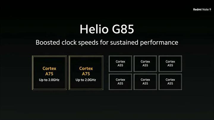 MediaTek, Helio G85'i duyurdu