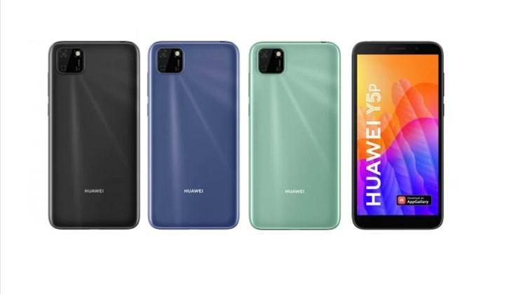 Huawei Y6P ve Y5P akıllı telefonları tanıtıldı