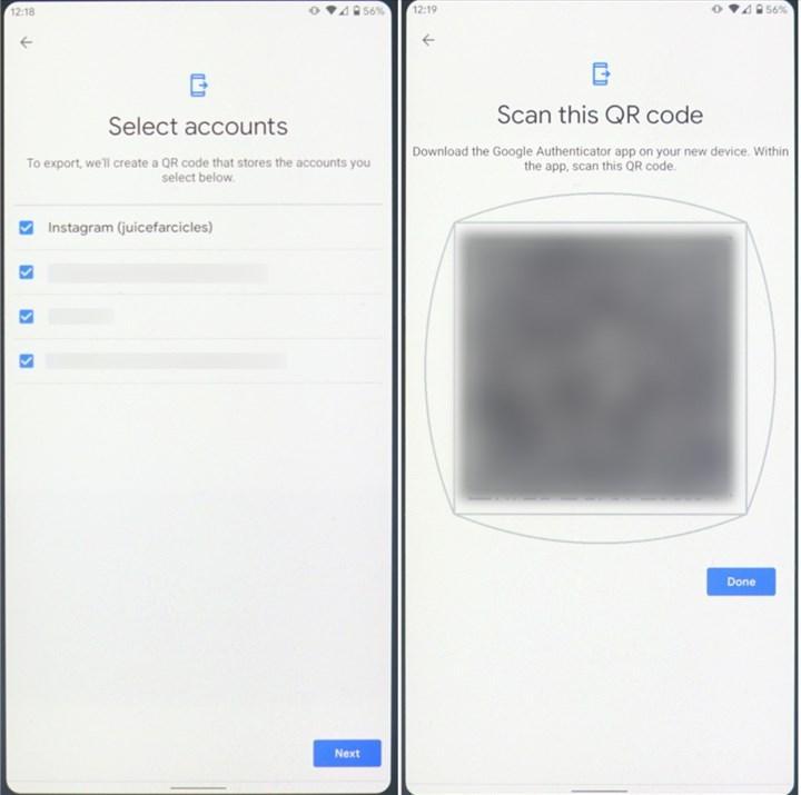 Google Authenticator güncellendi: Yeni tasarım ve hesap transfer özelliği