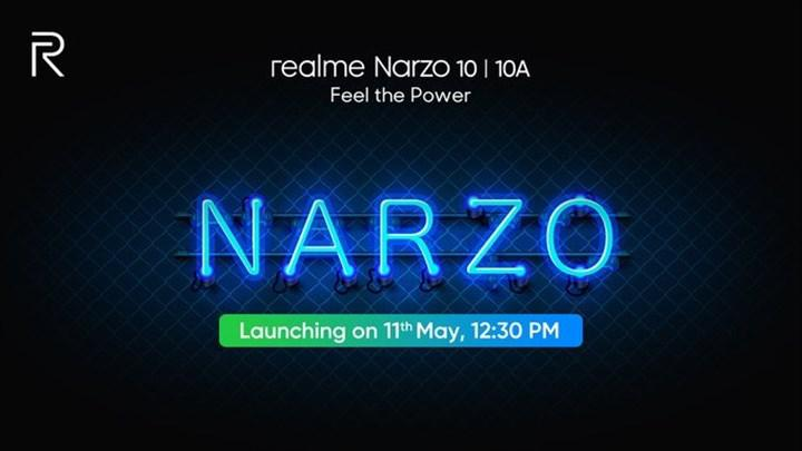 Realme Narzo 10 serisinin yeni lansman tarihi açıklandı