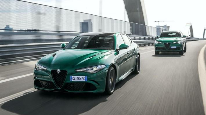 Makyajlı Alfa Romeo Giulia ve Stelvio Quadrifoglio ikilisi yeni ...