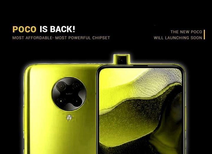 Poco F2 Pro'nun global lansmanı 12 Mayıs'ta yapılacak